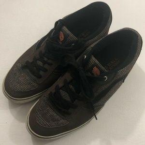 Vans Rowley Shamble Skate Shoes Brown Lace Up 11.5